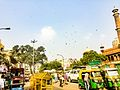 Traffic Infront of Jama Masjid.jpg