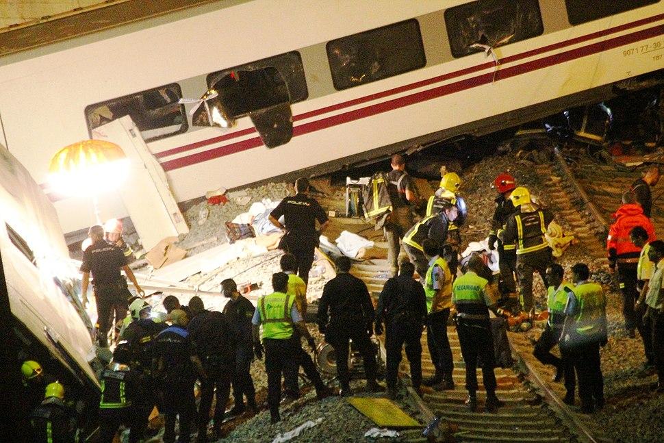 Tragedia en Santiago de Compostela (g)