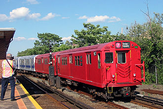 "New York Transit Museum - Special ""Train of Many Colors"" excursions are organized by the New York Transit Museum"