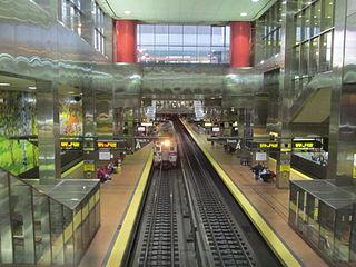 Center City Commuter Connection railway tunnel in Center City Philadelphia