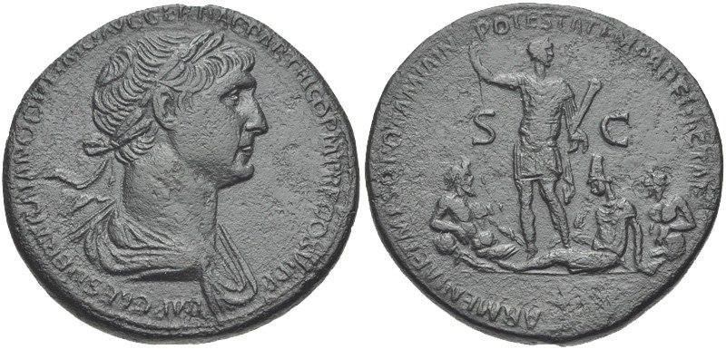 Trajan Sestertius 116 833039