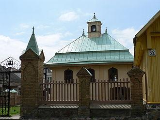 Crimean Karaites - Karaim kenesa in Trakai (modern day Lithuania).