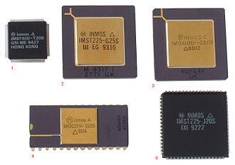 Inmos - Various Inmos ICs