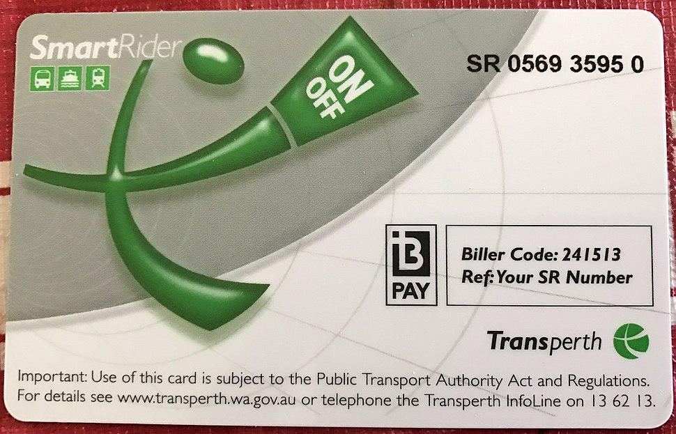 Transperth SmartRider Card