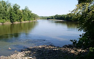 Traverse des Sioux - Minnesota River at Traverse des Sioux