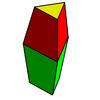 Triangular bifrustum