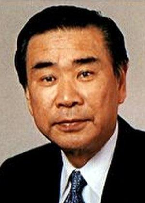 Japanese general election, 1993 - Image: Tsutomu Hata cropped Tsutomu Hata 199404