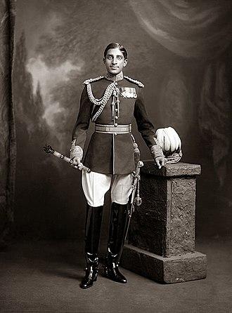 Tukojirao Holkar III - HH Tukoji Rao Holkar III, 27 September 1913