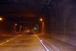 Túnel de Occidente, a la fecha el más largo de Latinoamérica, en la Carretera Panamericana