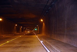Highway systems by country - Occidente tunnel, Antioquia.