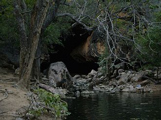 Tunnel Creek - Image: Tunnel Creek 2
