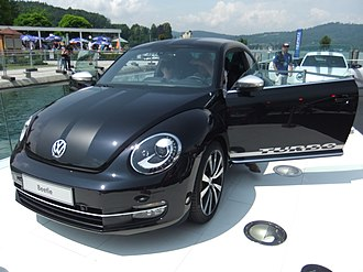 Volkswagen Beetle (A5) - VW Beetle Turbo Black