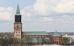 Southwest Finland - Image: Turku Cathedral profile