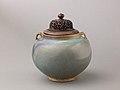 Two-eared jar, Jun ware MET 1663-3.jpg