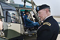 U.S. Army Gen. Martin E. Dempsey, right, the chairman of the Joint Chiefs of Staff, receives a briefing on Chinese helicopter aviation at a military post near Beijing April 24, 2013 130424-D-VO565-031.jpg