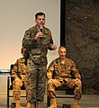 U.S. Army Lt. Gen. Jeffrey Talley, left, the commanding general of the Army Reserve, and Command Sgt. Maj. James Lambert, the command sergeant major of the Army Reserve, participate in a town hall meeting with 130427-A-CV700-135.jpg