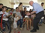 U.S. Congressional delegation attends a wheelchairs and hearing aids distribution event in Danang (13941333412).jpg