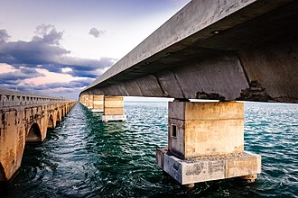 U.S. Route 1 in Florida - Overseas Highway and Railway Bridges, Florida Keys