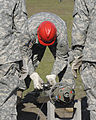 U.S. Soldiers train to assemble and erect an antenna at Fort Gordon, Ga., April 17, 2009 090417-A-NF756-001.jpg