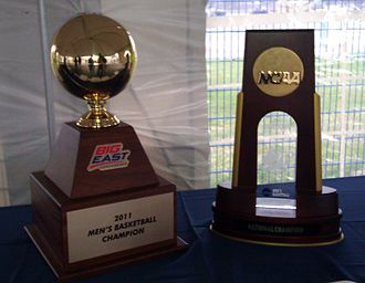 Connecticut Huskies men's basketball - UConn won both the Big East and NCAA National Championships in 2011.