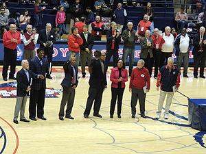 2012–13 Richmond Spiders men's basketball team - Ceremony honoring the UR All-Century team on February 9, 2013