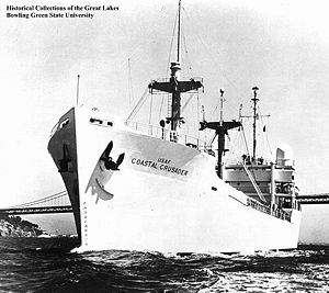 USNS Coastal Crusader (T-AGM-16) - Image: USAF Coastal Crusader (ORV 16)
