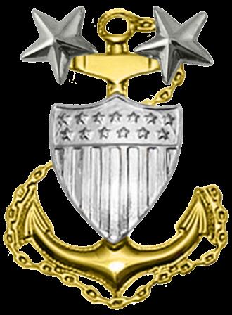 Master chief petty officer - Image: USCG MCPO Collar