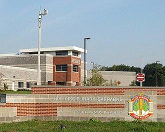 United States Disciplinary Barracks - United States Disciplinary Barracks in December 2008