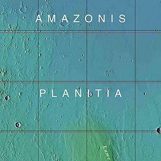 Amazonian (Mars) Time period on Mars