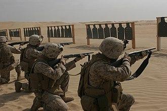 Mossberg 500 - United States Marines train with m500 shotguns