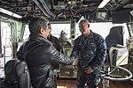 USS Bonhomme Richard (LHD 6) Welcomes Asahi Shimbun Reporter 170118-N-TH560-118.jpg