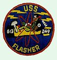 USS Flasher (SSN-613) patch1.JPG