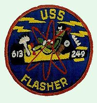 USS Flasher (SSN-613) patch1