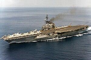 USS Franklin D. Roosevelt (CV-42) - Image: USS Franklin D. Roosevelt (CVA 42) Sep 1967