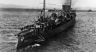 USS <i>Maury</i> (DD-100)