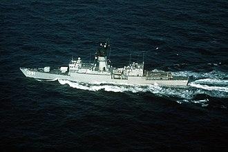 USS Miller (FF-1091) - Image: USS Miller (FF 1091)