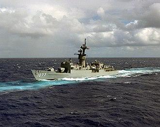 USS Ouellet - USS Ouellet (FF-1077)