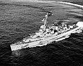 USS Vesole (DDR-878) underway in the Atlantic Ocean on 7 December 1956.jpeg