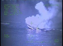File:US Coast Guard video - boat fire - Santa Cruz Island - 09.02.2019.webm