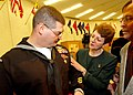 US Navy 040223-N-5576W-006 Parents of Hospital Corpsman 2nd Class Joseph Dementer, admire the Bronze Star their son received for courage under fire.jpg