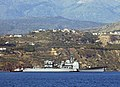 US Navy 050608-N-0780F-001 The guided missile cruiser USS Philippine Sea (CG 58) arrives in Greece for a port visit.jpg
