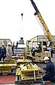 US Navy 050805-N-1995C-054 ROV Super Scorpio is prepared for loading on an Air Force C-5 Galaxy.jpg