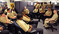 US Navy 090302-N-7948R-001 Master Chief Petty Officer of the Navy (MCPON) Rick D. West speaks with Cyberspace recruiters about bringing qualified people into the Navy during a visit to Navy Recruiting Command.jpg