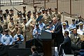 US Navy 090514-N-5503T-322 Vice President Joe Biden addresses Sailors from the Nitmitz-class aircraft carrier USS Ronald Reagan (CVN 76).jpg