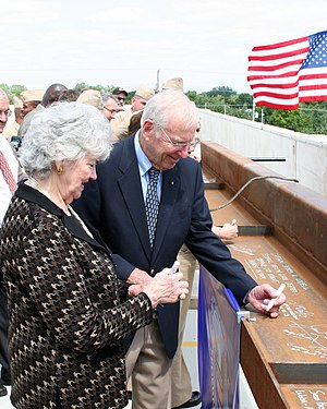 Jim Lovell - Jim and Marilyn Lovell in 2009.
