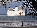 US Navy 110803-N-EP471-012 The Military Sealift Command hospital ship USNS Comfort (T-AH 20) is moored pierside in Puntarenas, Costa Rica.jpg