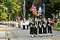 US Navy 110910-N-WP746-350 The color guard assigned to USS Lake Erie (CG 70) leads the parade group through the town of Put-in-Bay.jpg