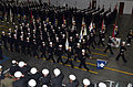 US Navy 111007-N-CM124-001 Recruit Division 339 marches into Midway Ceremonial Drill Hall at Recruit Training Command,.jpg