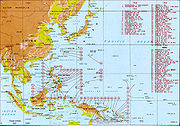 Allied landings in the Pacific Theatre of Operations, August 1942 to August 1945