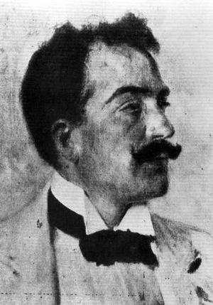 Umberto Giordano - Umberto Giordano (1896) portrayed by Gaetano Esposito